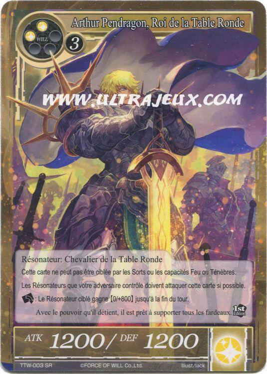 Ultrajeux arthur pendragon roi de la table ronde ttw - Dessin anime chevalier de la table ronde ...
