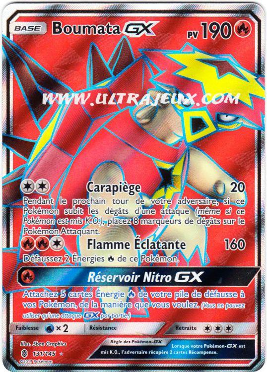 Ultrajeux boumata gx 131 145 carte pok mon cartes l - Carte pokemon ex et gx ...