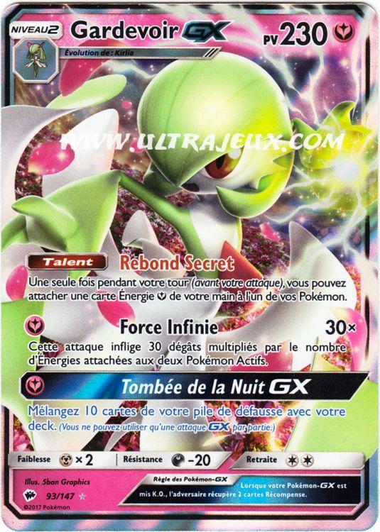 Ultrajeux gardevoir gx 93 178 carte pok mon cartes l 39 unit fran ais - Carte pokemon fee ...