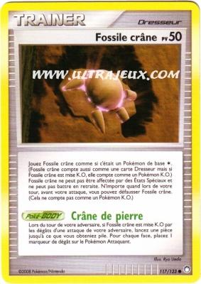 Fossile crane pv 50 de l 39 dition diamant et perle - Fossile pokemon diamant ...