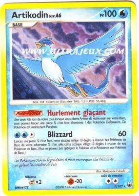Artikodin de l 39 dition diamant et perle aube majestueuse - Pokemon rare diamant ...