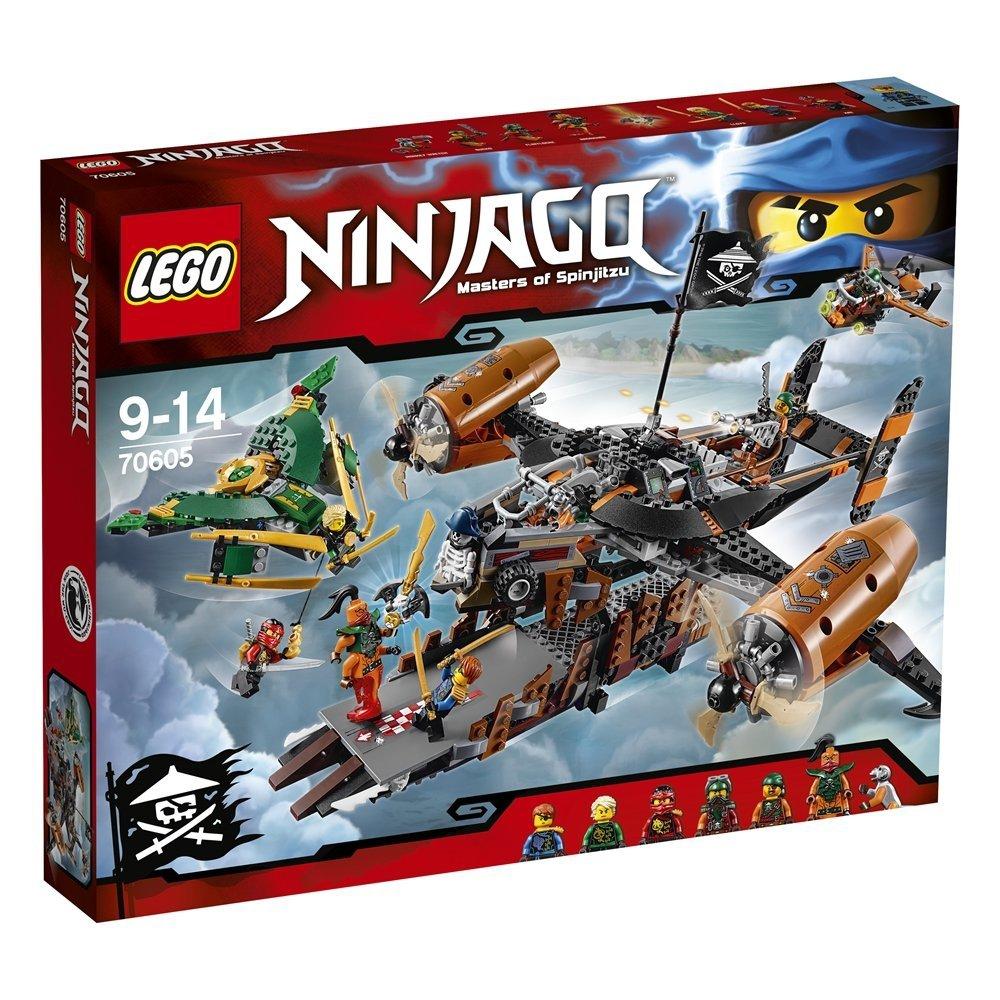 ninjago 70605 le vaisseau de la maldiction