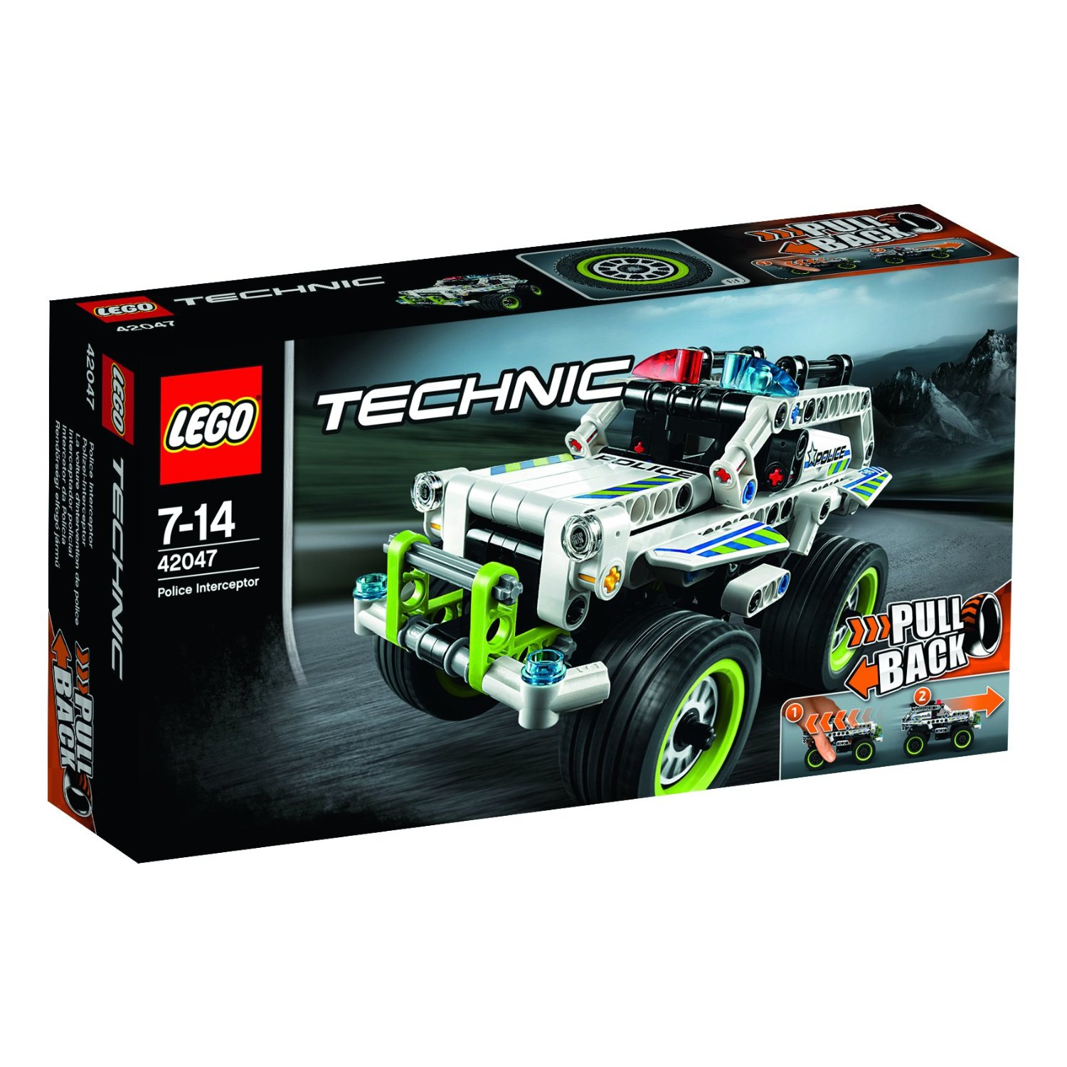 ultrajeux lego technic 42047 la voiture d 39 intervention de police. Black Bedroom Furniture Sets. Home Design Ideas