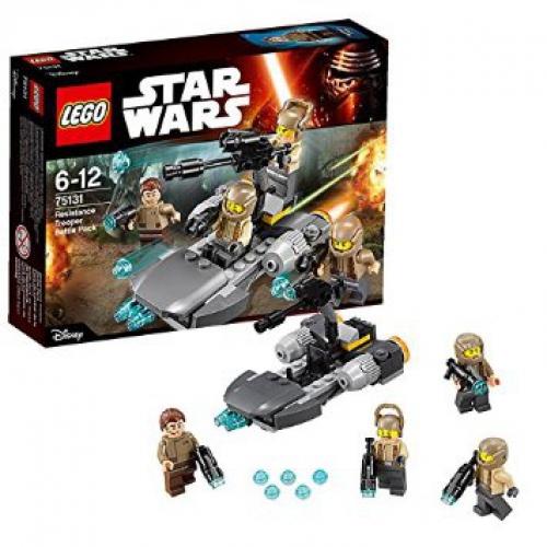 ultrajeux lego star wars 75131 pack de combat de la resistance. Black Bedroom Furniture Sets. Home Design Ideas