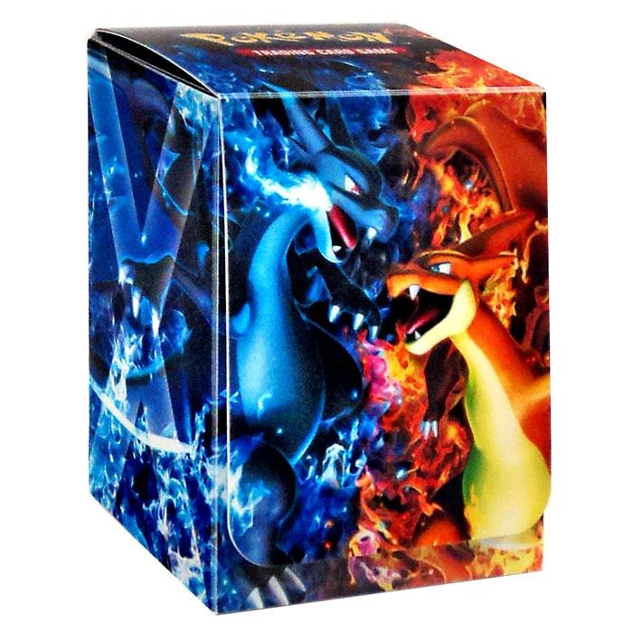 Ultrajeux boite de rangement deck box pok mon mega - Pokemon dracaufeu x ...