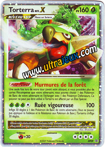ultrajeux produit sp cial carte promo pokemon torterra niv x en fran ais pok mon. Black Bedroom Furniture Sets. Home Design Ideas