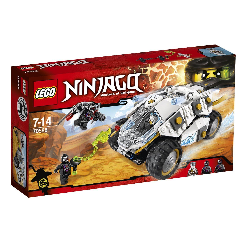 ninjago lego lego ninjago 70588 le tumbler du ninja de titane