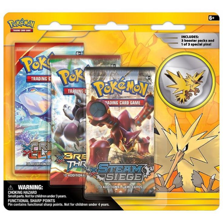 Ultrajeux produit sp cial edition collector pin 39 s elector en anglais pok mon - Elector pokemon x ...