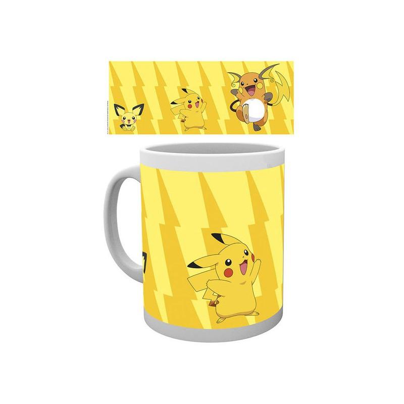 Evolution Dérivés Pokémon Mug Produits Pikachu trCsQdxh