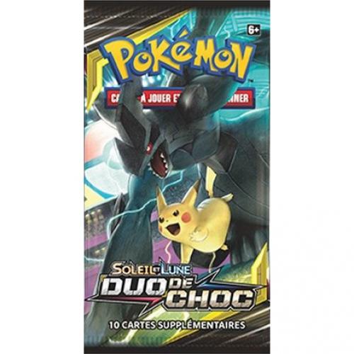 Cartes Pokémon reverse soleil et lune 9 Duo de Choc FR