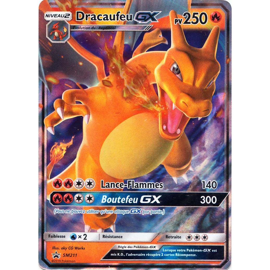 Produit Carte Promo Sl115 Destinées Occultes Dracaufeu Gx Sm211 Pokémon Ultrajeux