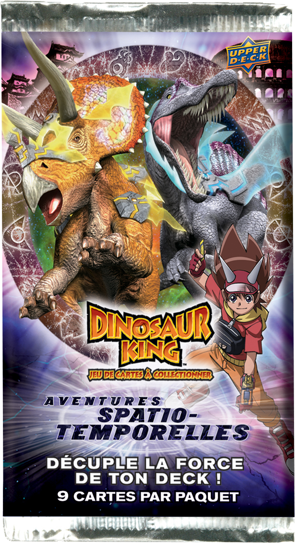boosters dinosaur king aventures spatio temporelles