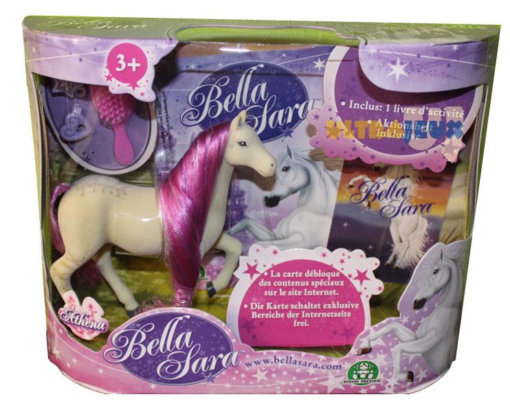 Ultrajeux jouet bella sara cheval 12 cm accessoires athena bella sara - Jeux de bella sara ...