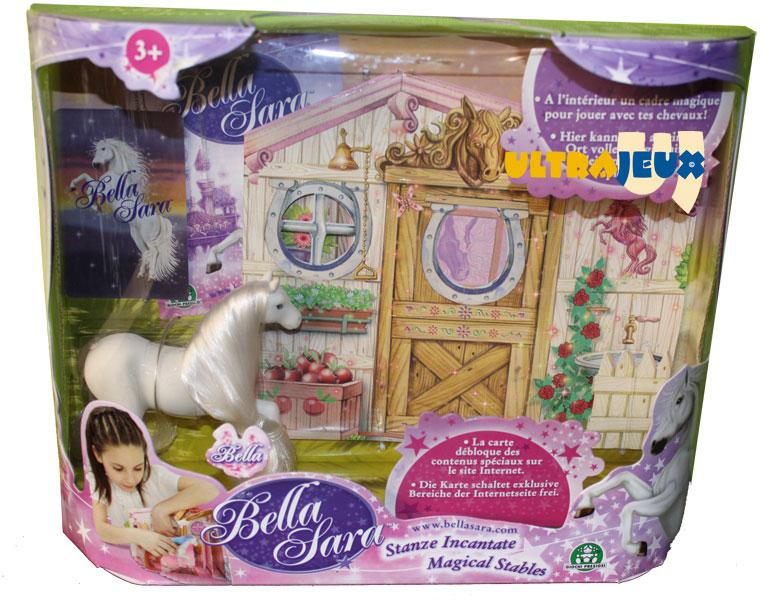 Ultrajeux jouet bella sara ecurie magique cheval bella bella sara - Jeux de bella sara ...