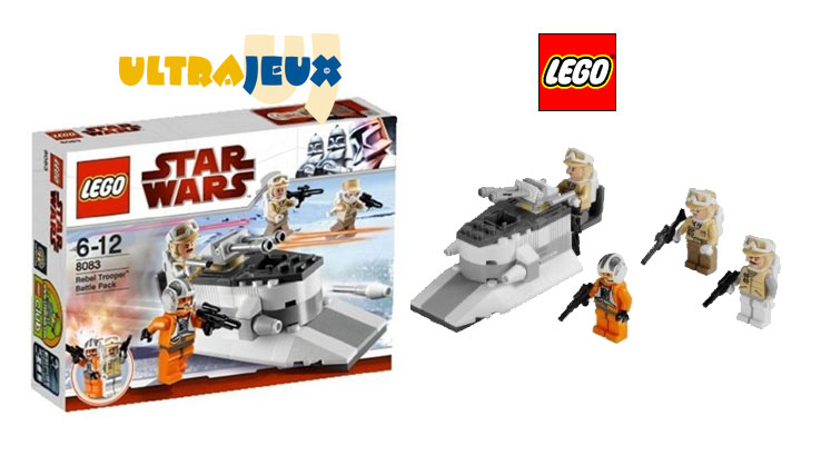 UltraJeux - Star Wars 8083 - Rebel Trooper Battle Pack LEGO