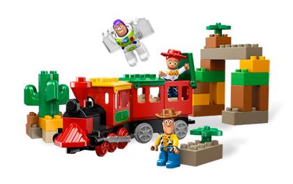 ultrajeux toy story 3 la poursuite en train lego. Black Bedroom Furniture Sets. Home Design Ideas