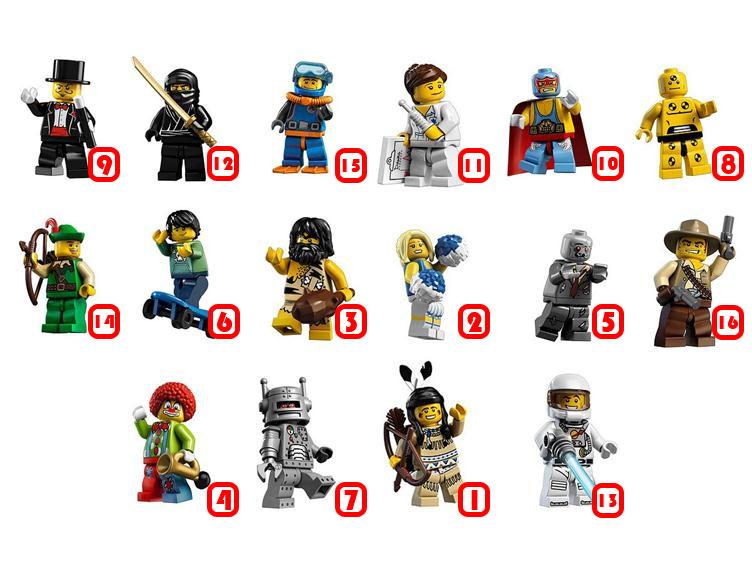 srie 1 lego minifigures srie 1 08 le personnage de crash test