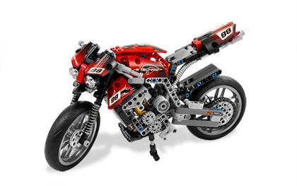 ultrajeux technic la moto lego. Black Bedroom Furniture Sets. Home Design Ideas