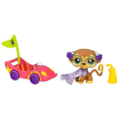 Ultrajeux petshop duo ou avec accessoires le singe et sa - Petshop singe ...