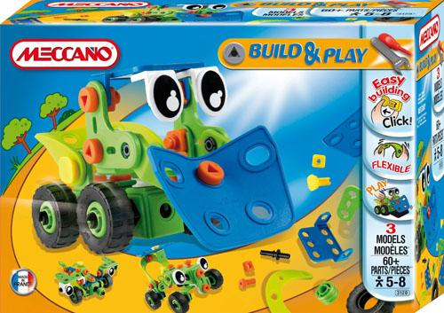ultrajeux gamme meccano build play bulldozer meccano. Black Bedroom Furniture Sets. Home Design Ideas