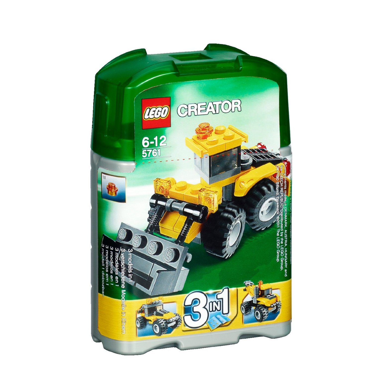 Ultrajeux creator 5761 la mini pelleteuse lego - Jeux de construction lego technic ...