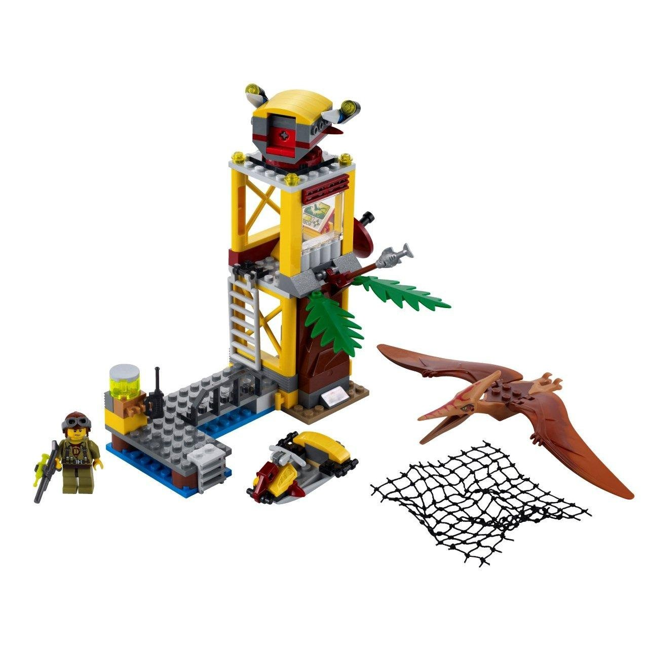 Pin lego dino 5887 jeu de construction le qg de d fense - Lego modeles de construction ...