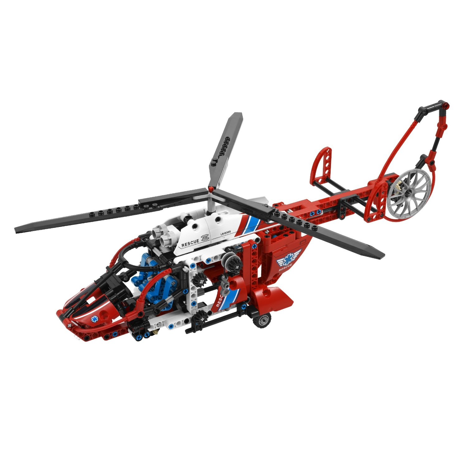 Ultrajeux technic l h licopt re de secours lego - Jeux de construction lego technic ...