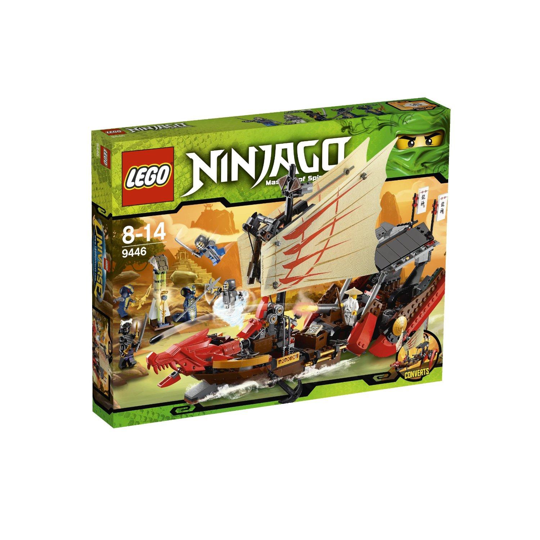 Ultrajeux lego ninjago 9446 le qg des ninjas lego - France 3 ninjago ...