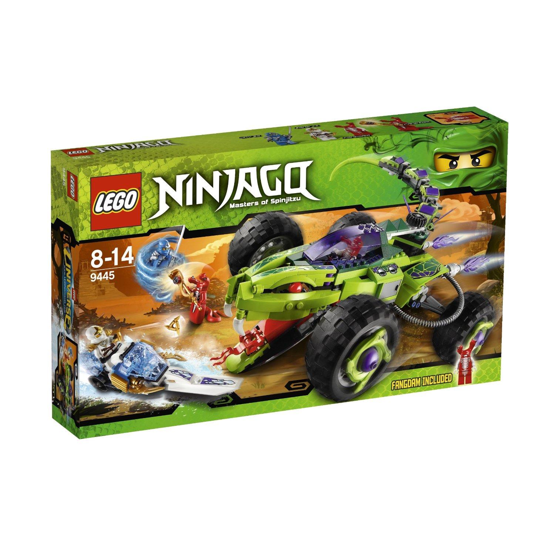 ninjago 9445 lattaque du buggy fangpyre