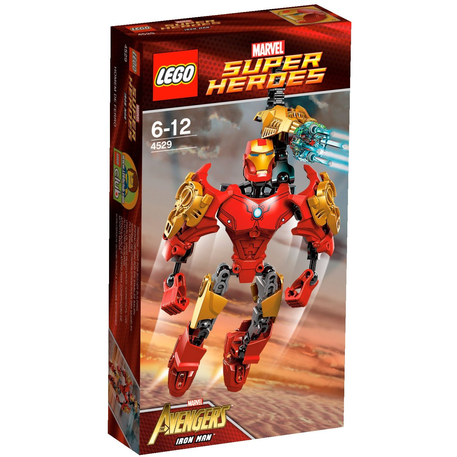Ultrajeux super h ros 4529 iron man lego - Jeux de construction lego technic ...
