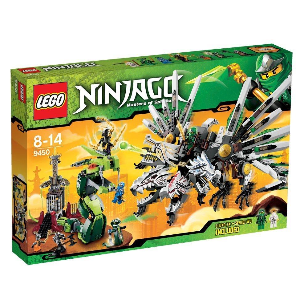 ultrajeux lego ninjago 9450 le combat des dragons lego. Black Bedroom Furniture Sets. Home Design Ideas