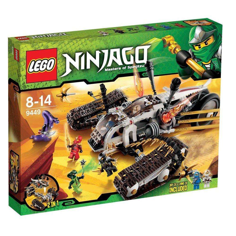 ninjago 9449 le tout terrain ultrasonique