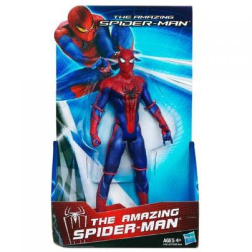 spiderman figurine 22cm spiderman de hasbro. Black Bedroom Furniture Sets. Home Design Ideas