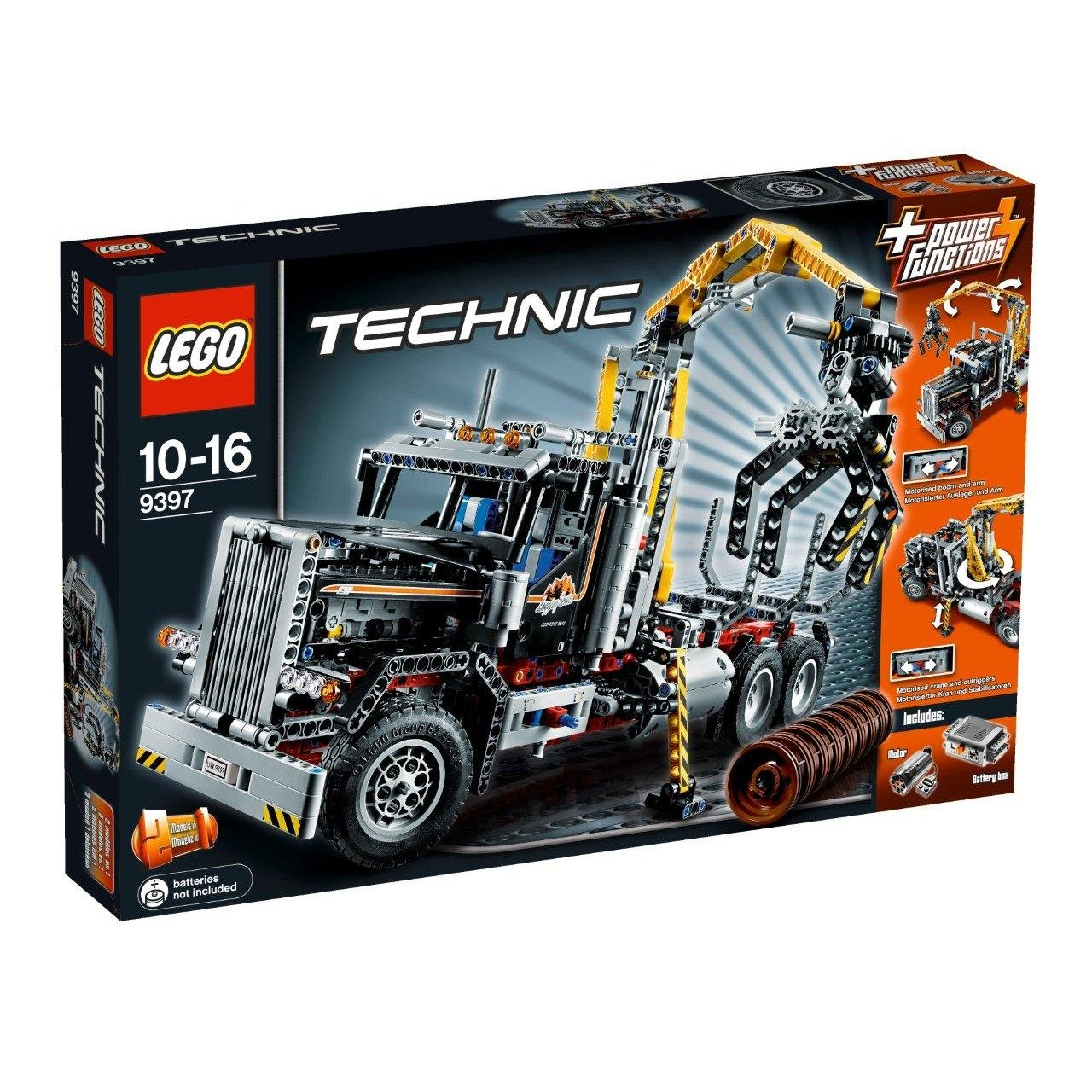 Ultrajeux technic 9397 le camion forestier lego - Jeux de construction lego technic ...
