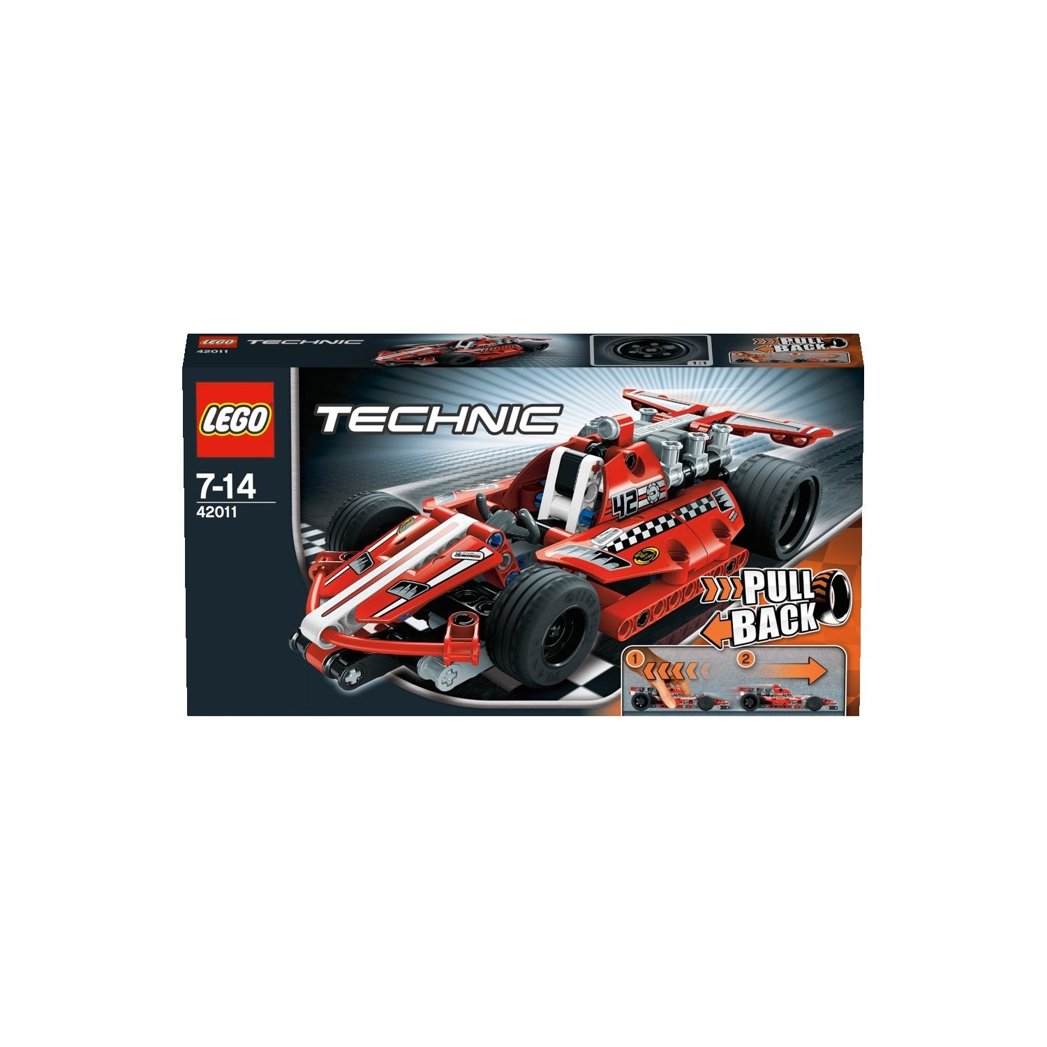 Ultrajeux technic 42011 la voiture de course lego - Jeux de construction lego technic ...