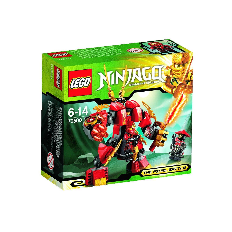 ultrajeux lego ninjago 70500 le robot de feu de kai lego. Black Bedroom Furniture Sets. Home Design Ideas