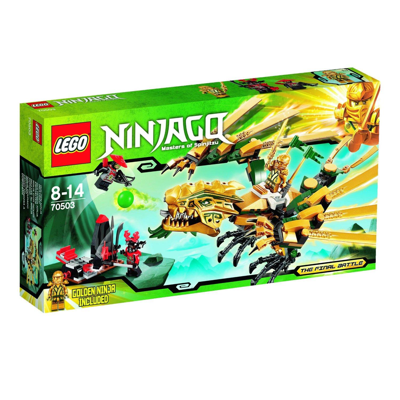 Ultrajeux lego ninjago 70503 le dragon d 39 or lego - Lego ninjago d or ...