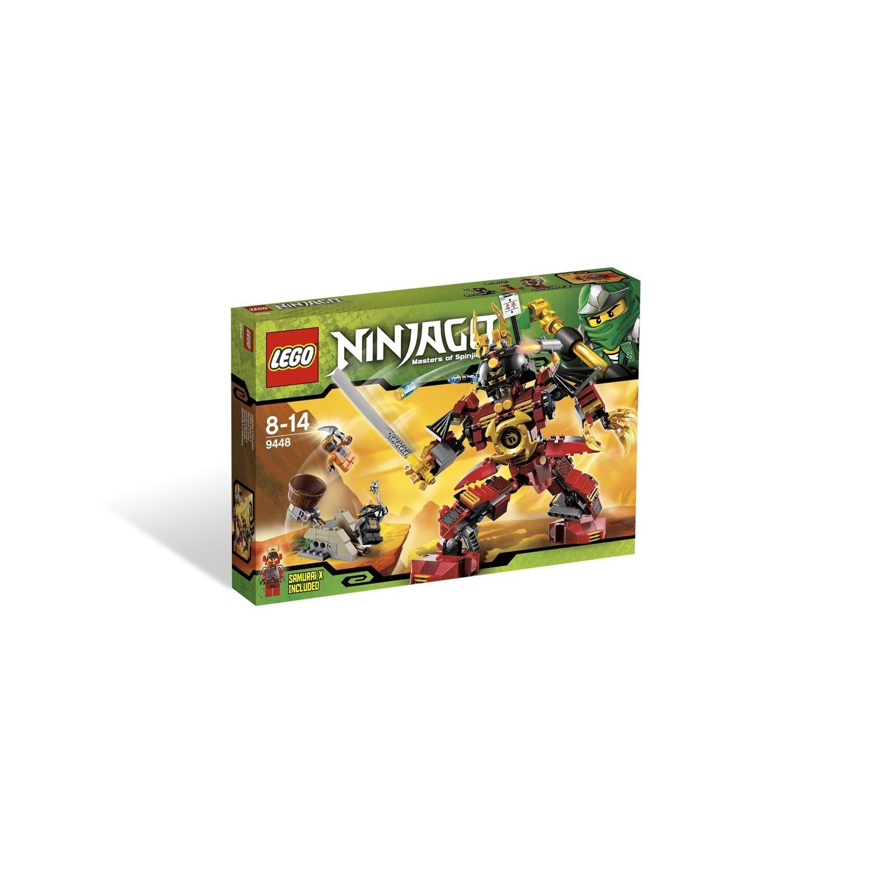 ultrajeux lego ninjago 9448 le robot samurai lego. Black Bedroom Furniture Sets. Home Design Ideas