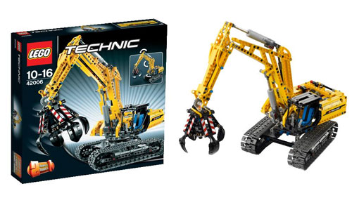Ultrajeux technic 42006 la pelleteuse lego - Jeux de construction lego technic ...