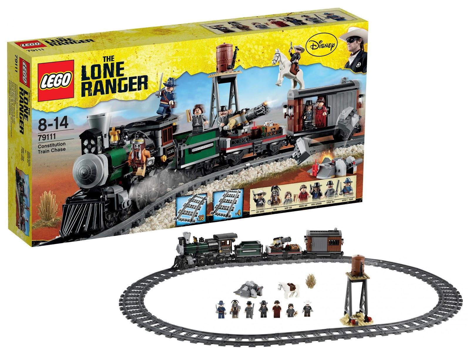 ultrajeux lone ranger 79111 course poursuite dans le train lego. Black Bedroom Furniture Sets. Home Design Ideas