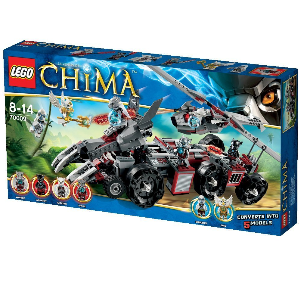 UltraJeux - Legends Of Chima 70009 - Le Char De Combat Loup LEGO