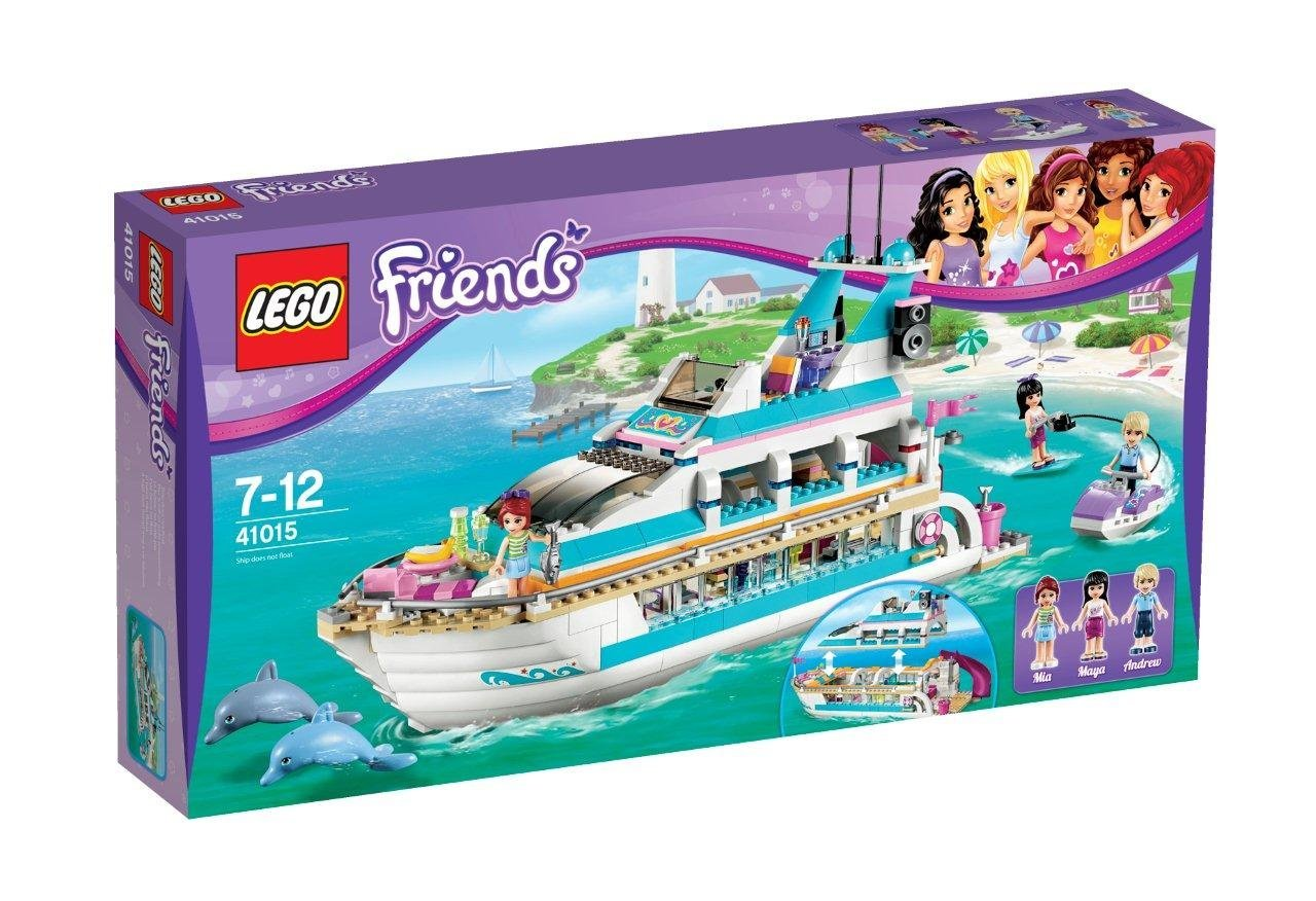ultrajeux friends 41015 le yacht lego. Black Bedroom Furniture Sets. Home Design Ideas