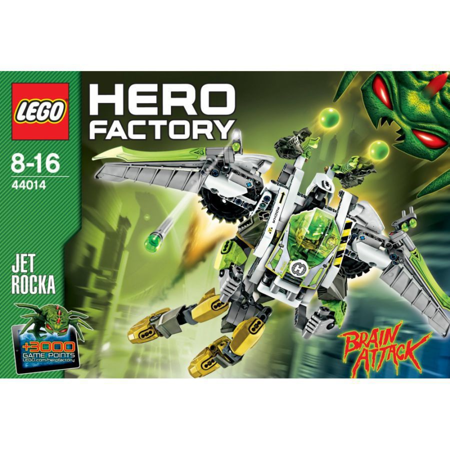 lego 44014 hero factory jet rocka great gift ebay. Black Bedroom Furniture Sets. Home Design Ideas