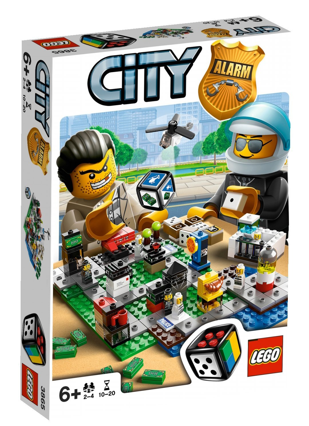 ultrajeux jeu de soci t city alarm lego. Black Bedroom Furniture Sets. Home Design Ideas