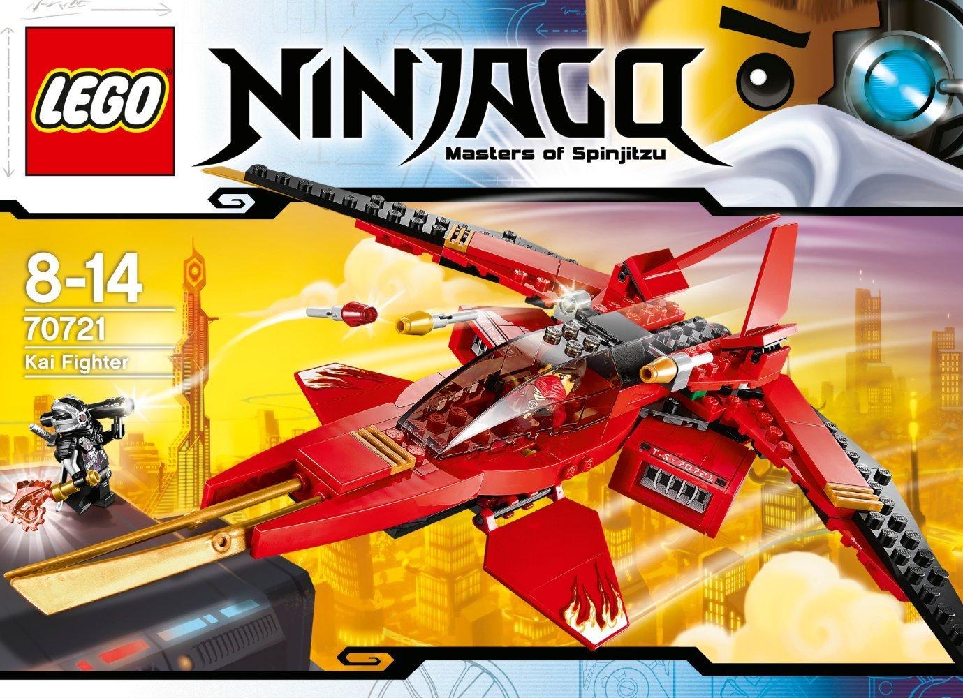 Ultrajeux lego ninjago 70721 le superjet de kai lego - Ninjago nouvelle saison ...