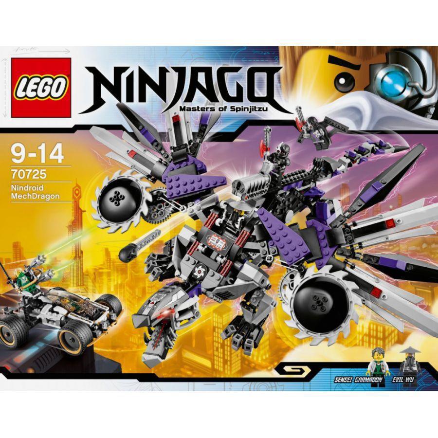 ultrajeux lego ninjago 70725 l 39 attaque du dragon. Black Bedroom Furniture Sets. Home Design Ideas