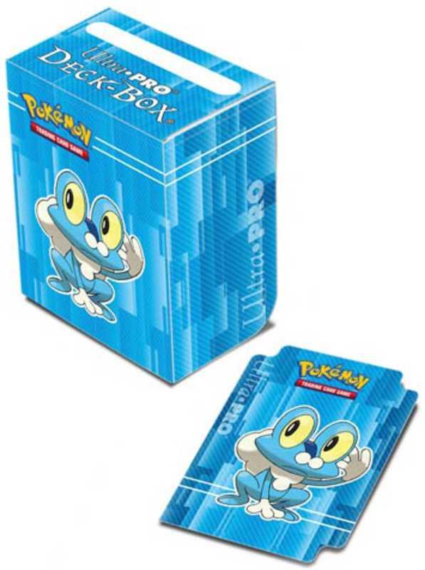 UltraJeux - Boite de Rangement Deck Box Grenousse Pokémon