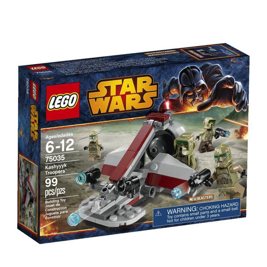 ultrajeux star wars 75035 kashyyyk troopers lego. Black Bedroom Furniture Sets. Home Design Ideas