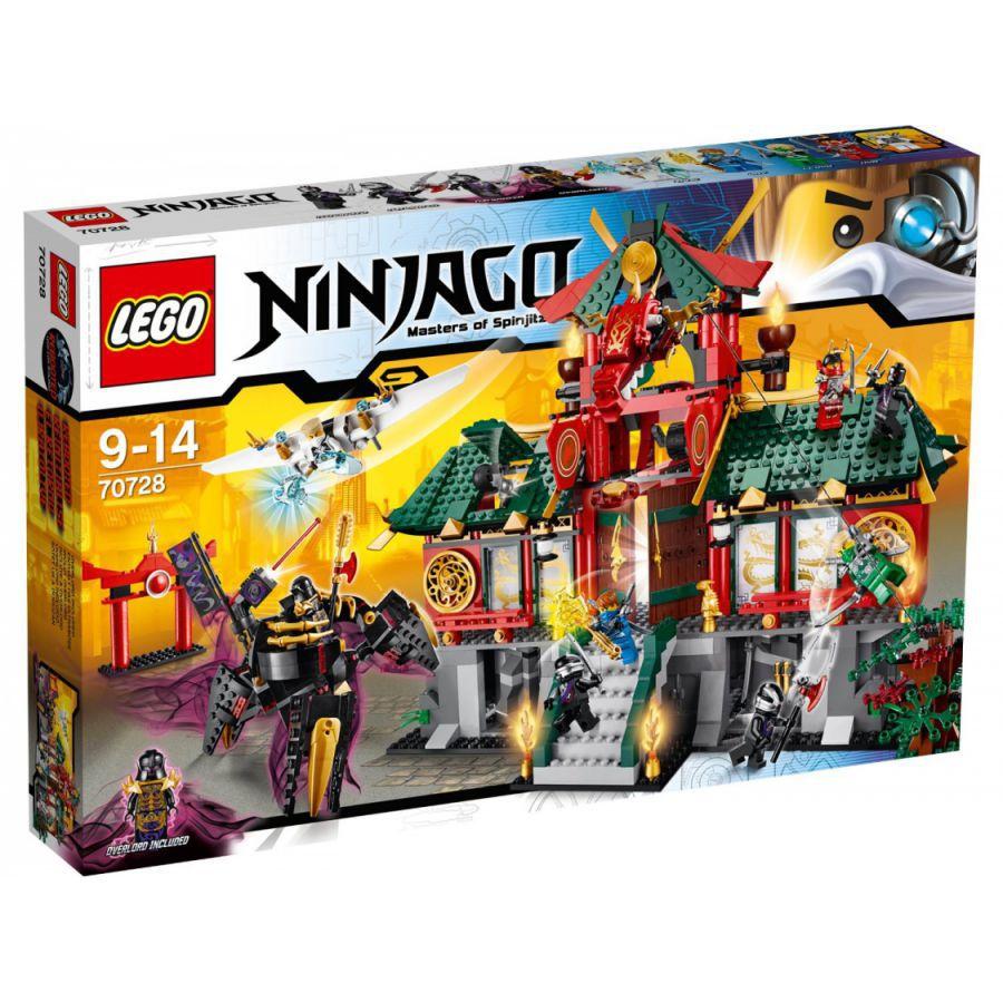 Ultrajeux lego ninjago 70728 le temple de ninjago city - France 3 ninjago ...