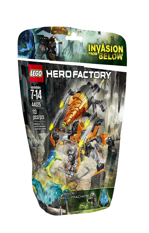 Ultrajeux hero factory 44025 la foreuse de bulk lego - Lego hero factory jeux ...